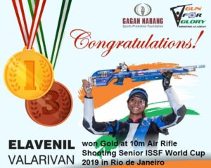 Elavenil Valarivan (Gold Medalist in Shooting) Biography, Father, Family, State Tamil 1