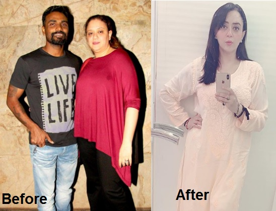Remo D'Souza's Wife Lizelle D'Souza Journey of Weight Loss Transformation 3