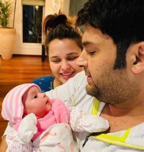 Kapil Sharma Baby Pics, Name, Wife Ginni, Marriage Anniversary, Twitter, Instagram 11