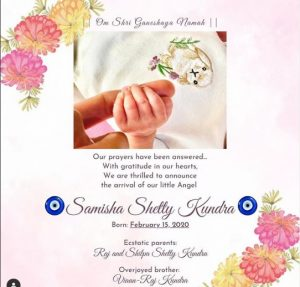 Shilpa Shetty Daughter Name Samisha Shetty Kundra , Check Birthdate, Pics 2