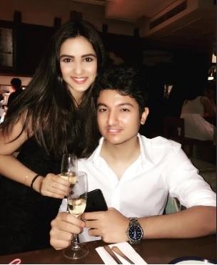 Jasmin Bhasin with Suraj Wadhwa