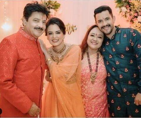 Aaditya Narayan and Shweta Aggrawal Wedding Reception Photos
