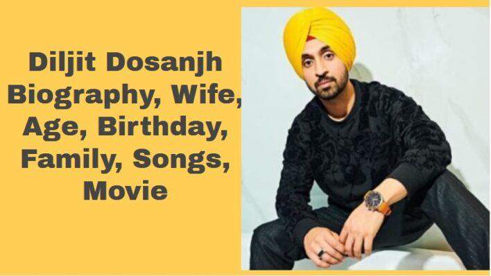 Diljit Dosanjh Biography