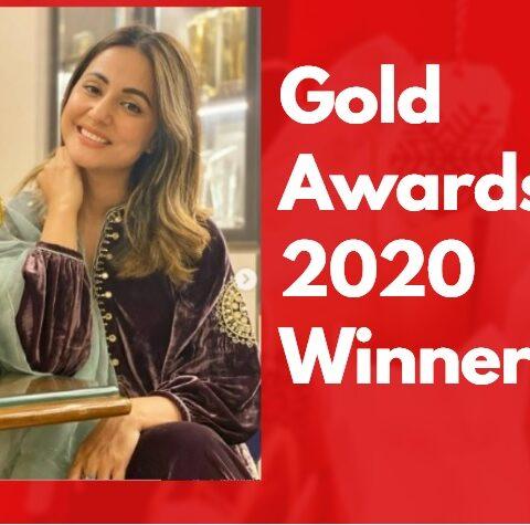Gold Awards 2020 Winner List