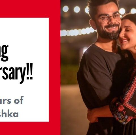 Happy Wedding Anniversary Anushka Sharma and Virat Kohli