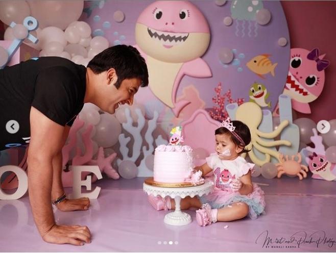 Kapil Sharma celebrating Anayra Sharma First Birthday
