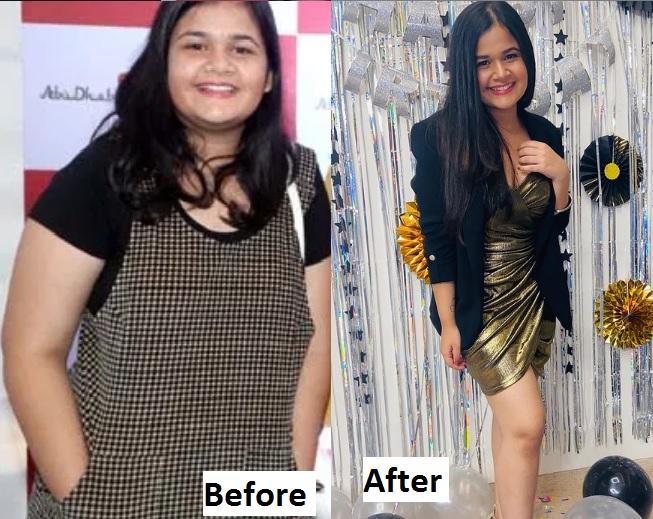Saloni Daini Weight Loss Transformation Journey