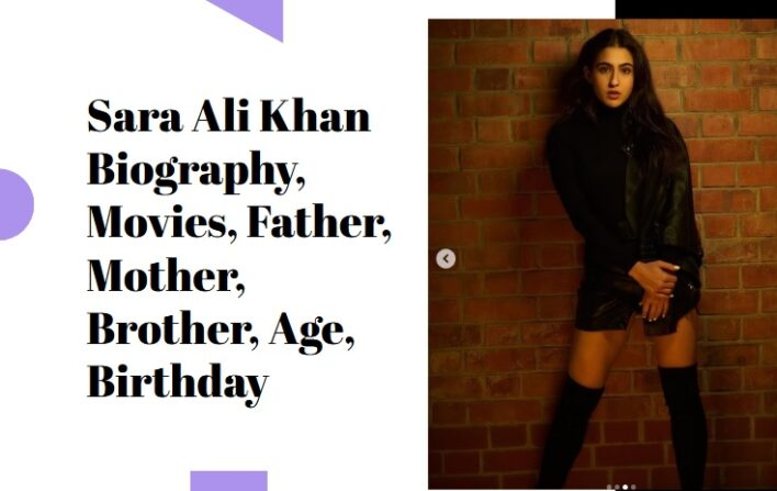 Sara Ali Khan Biography