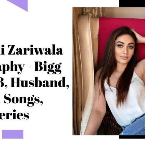 Shefali Zariwala Biography