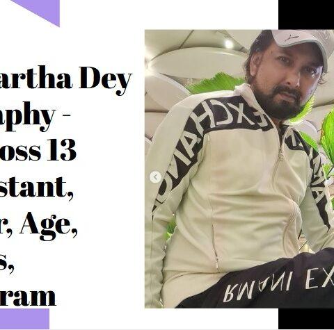 Sidharth Dey Biography