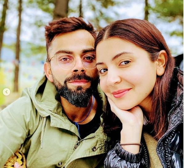 Virat Kohli and Anushka Sharma Images