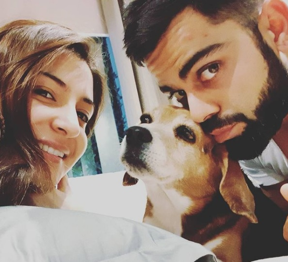Virat Kohli and Anushka Sharma Photo