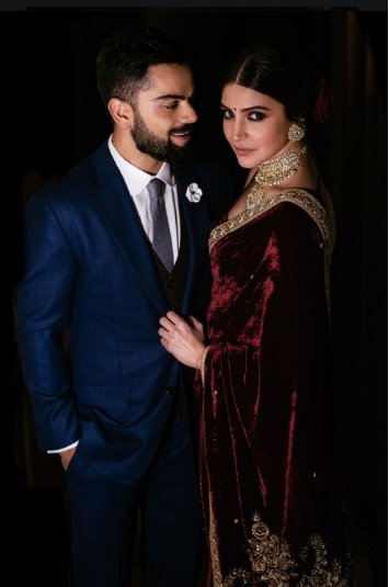 Virat Kohli and Anushka Sharma on 3rd Wedding Anniversary
