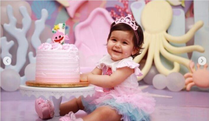 Anayra Sharma First Birthday