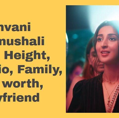 Dhvani Bhanushali Biography