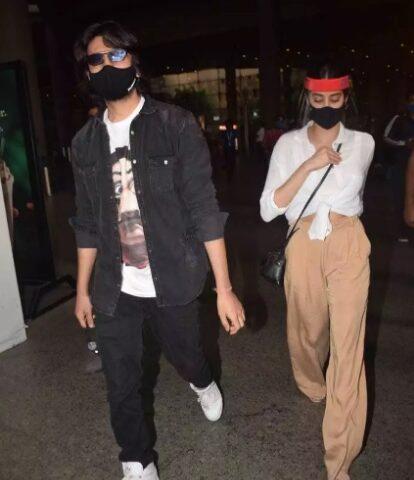Kartik Aryan and Jhanvi Kapoor returned from Goa Vacation