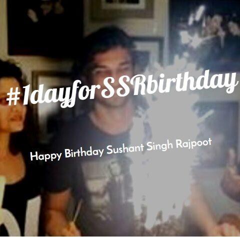 SSR Fans trend #1DayforSSRbirthday on Twitter