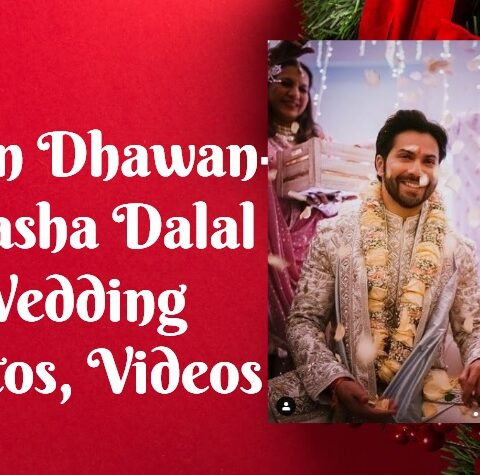 Varun Dhawan-Natasha Dalal Wedding Photos, Videos