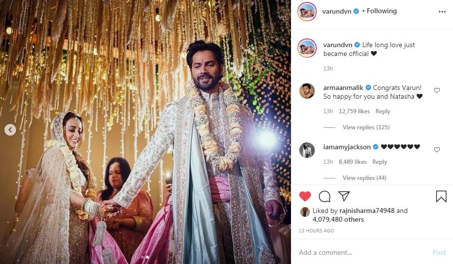 Varun Dhawan Wedding Photos