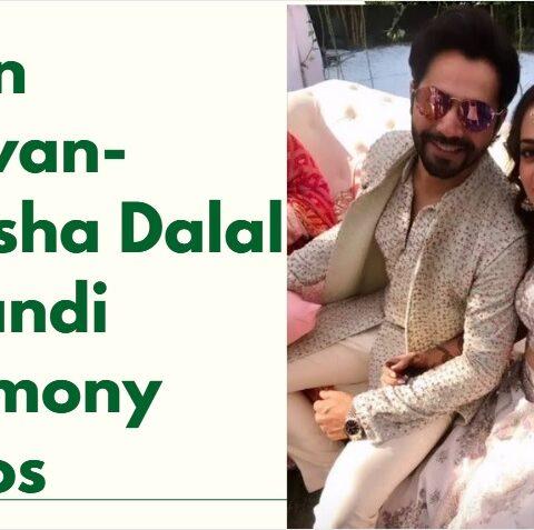 Varun-Natasha Mehandi Ceremony Pics