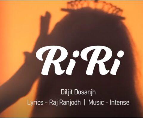 Diljit Dosanjh New Song RiRi dedicated to Rihanna