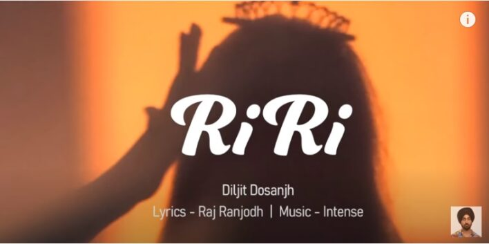 Diljit Dosanjh New Song RiRi dedicated to Rihanna