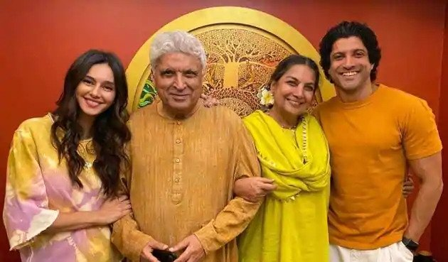Javed Akhtar Family